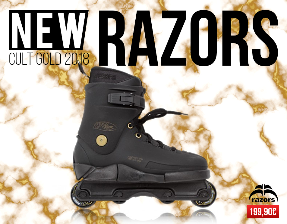 Razors Cult Gold 2018